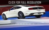 2015 Ford Mustang white #4