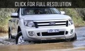 2015 Ford Ranger - pickup, facelift, interior, diesel, wildtrak