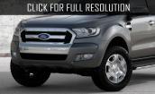 2015 Ford Ranger facelift #1