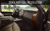 2015 Ford Super Duty interior #2