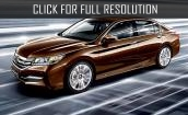2015 Honda Accord - interior, exterior and specs