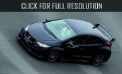 2015 Honda Civic black #2