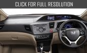 2015 Honda Civic interior #2