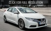 2015 Honda Civic white #2
