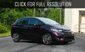 2015 Honda Fit Ex black #3