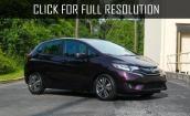 2015 Honda Fit Ex black #3