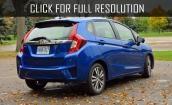 2015 Honda Fit Ex i #1