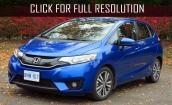 2015 Honda Fit Ex i #4