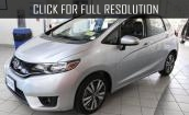 2015 Honda Fit Ex white #1
