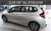 2015 Honda Fit Ex white #2