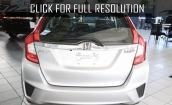 2015 Honda Fit Ex white #3