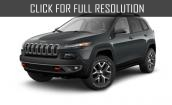 2015 Jeep Cherokee black #1