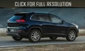 2015 Jeep Cherokee black #2