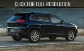2015 Jeep Cherokee black #2