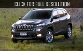 2015 Jeep Cherokee black #3