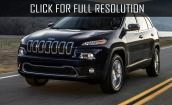 2015 Jeep Cherokee black #4