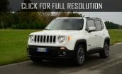 2015 Jeep Renegade white #2