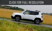 2015 Jeep Renegade white #4