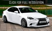 2015 LEXUS IS - exterior and interior changes