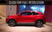 2015 Lincoln Mkc red #1