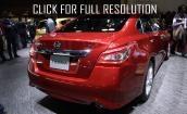 2015 Nissan Teana red #1