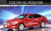 2015 Nissan Teana red #2