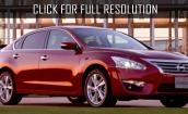 2015 Nissan Teana red #4