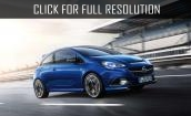 2015 Opel Corsa OPC - exterior, specs, wheels, photos