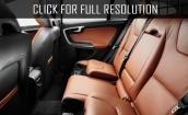 2015 Volvo V60 interior #1