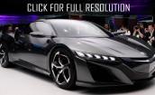 2016 Acura Nsx black #2