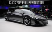 2016 Acura Nsx black #3