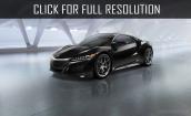 2016 Acura Nsx black #4