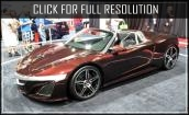 2016 Acura Nsx convertible #4