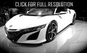 2016 Acura Nsx white #1
