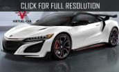 2016 Acura Nsx white #2