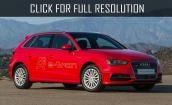 2016 Audi A3 Sportback E tron #1