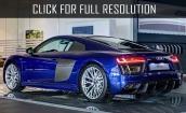 2016 Audi R8 V10 Plus blue #1
