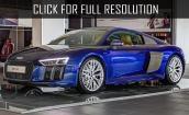 2016 Audi R8 V10 Plus blue #2
