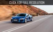 2016 Audi R8 V10 Plus blue #3