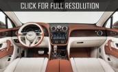 2016 Bentley Bentayga interior #1