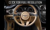 2016 Bentley Bentayga interior #2