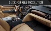 2016 Bentley Bentayga interior #3