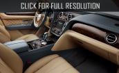 2016 Bentley Bentayga interior #3