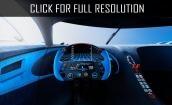 2016 Bugatti Vision Gran Turismo interior #3