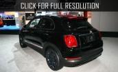 2016 Fiat 500x black #2