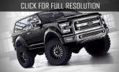 2016 Ford Bronco Svt black #1