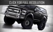 2016 Ford Bronco Svt black #2