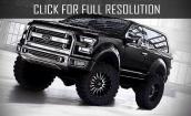2016 Ford Bronco Svt black #2