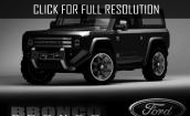 2016 Ford Bronco Svt black #3