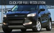 2016 Ford Escape black #1